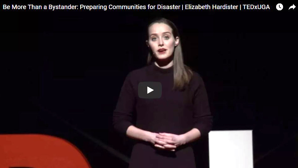 Be More Than a Bystander: Preparing Communities for Disaster
